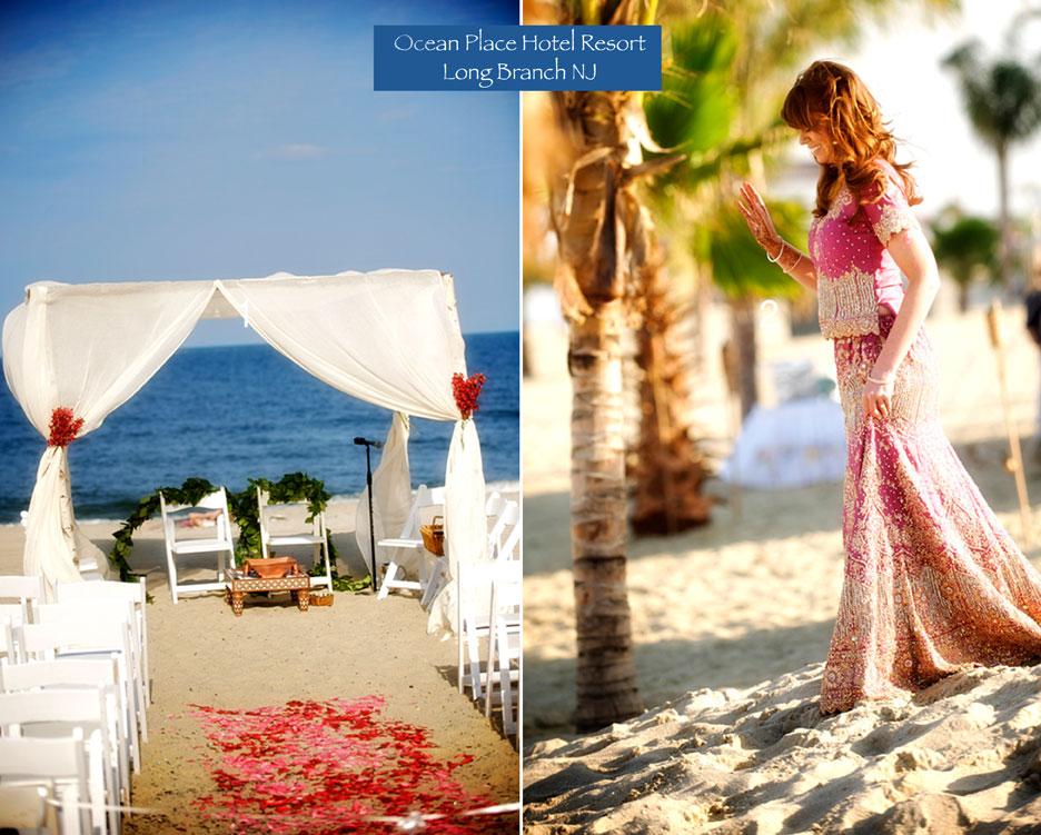 Ocean Place Resort Beach Bliss New Jersey Wedding Photographers