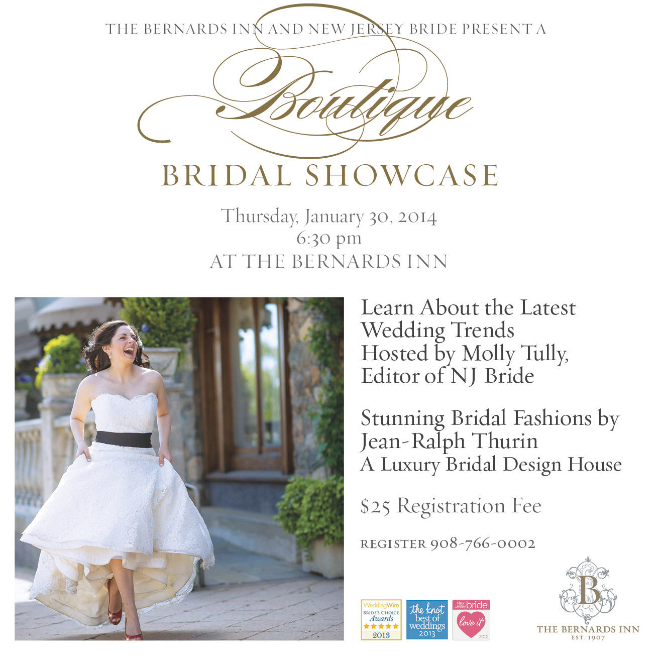 Bridal Showcase Bernards Inn