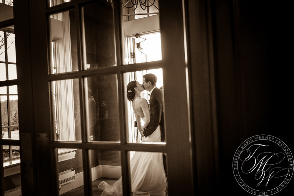 Photojournalistic Black and White Wedding Image