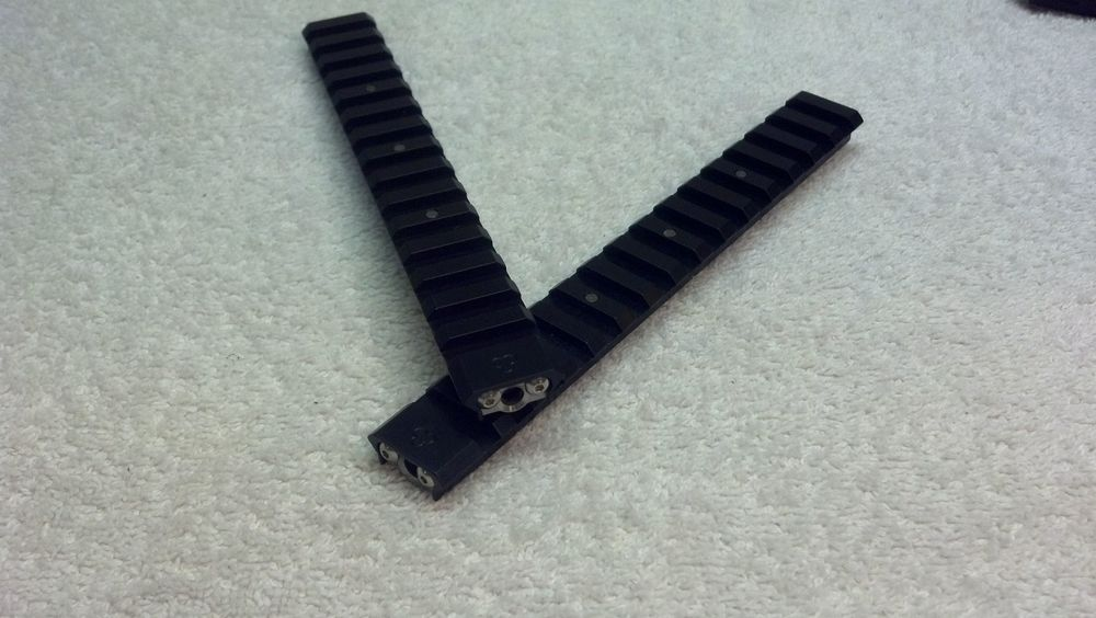 Extended length RRAC Tactical Rails