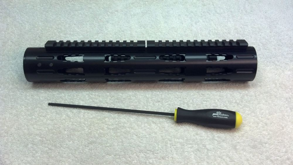 Full-Length RRAC Tactical Handguard with Standard RRAC Rails