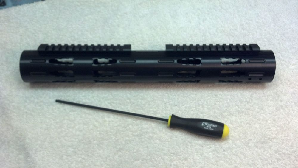 Extended-Length RRAC Tactical Handguard with Standard RRAC Rails