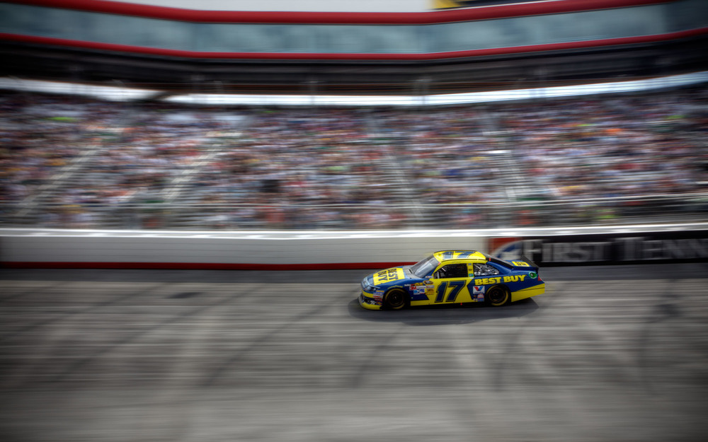 Best Buy Car @ Bristol Motor Speedway