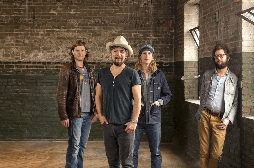 The Black Lillies After Image with 4 Members