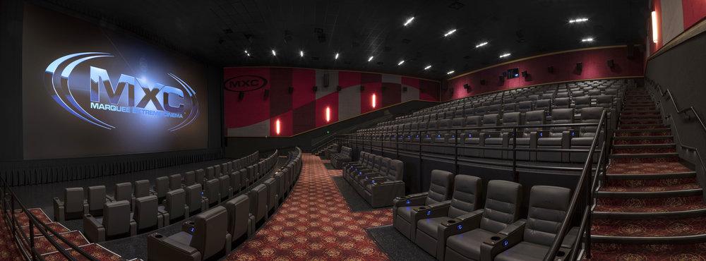 Theater Screen Room