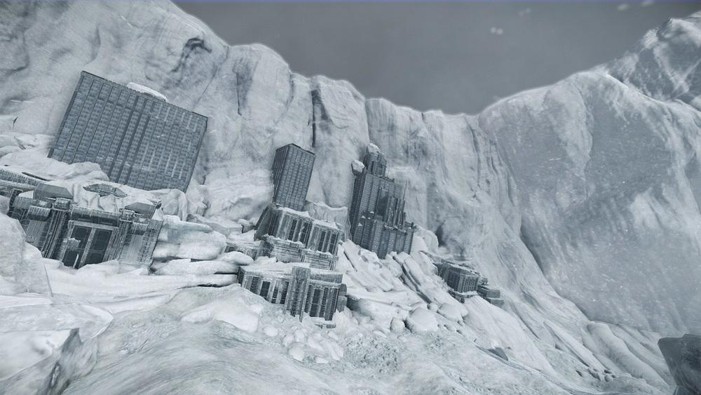 Glacial Cliff