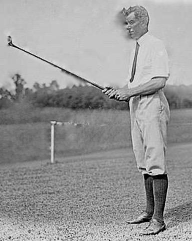 1940 Senior PGA Champion  Otto Gustave Albert Hackbarth  on July 21, 1921