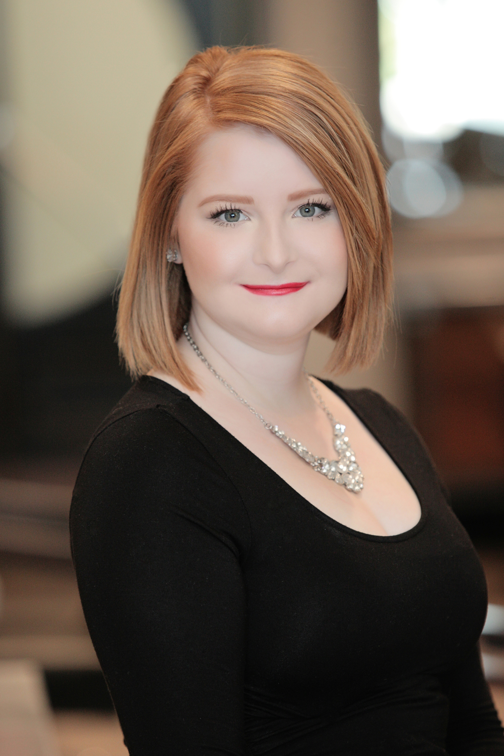 Ashley Donnelly Ashely specializes in great customer service and welcomes you with a smile when you walk through the door. From helping you choose the right products to scheduling your next appointment, she's happy to help in any way.