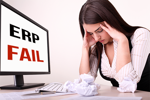 fear of failure ERP implementations