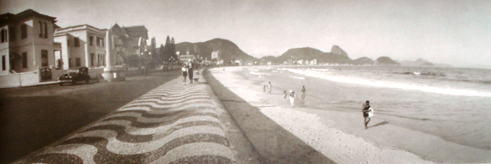 A Avenida Atlântica ganhou a cara definitiva na gestãoPaulo de Frontin, em 1918 como paredão de pedra entre oLemee aIgrejinha.