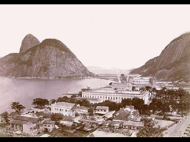 Praia da Saudade 1893, foto de J. Guitierrez