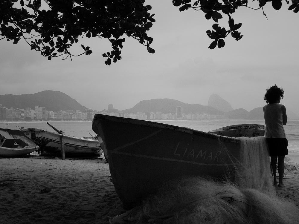 Colônia de Pesca Z-13, no Posto Seis em Copacabana