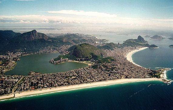 Panorâmica das praias do Rio