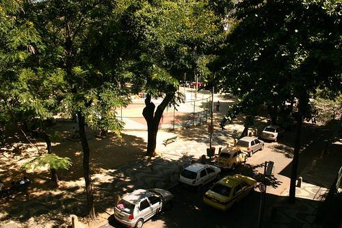 Praça do Bairro Peixoto em Copacabana, Rio de Janeiro