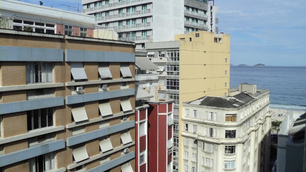 Rua Barão de Ipanema em Copacabana, Rio de Janeiro