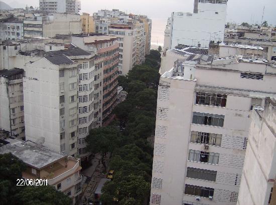 Rua Bolívar em Copacabana, Rio de Janeiro