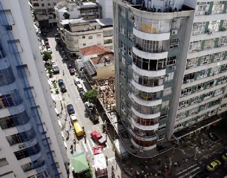 Rua Djalma Ulrich esquina com Avenida Nossa Senhora de Copacabana