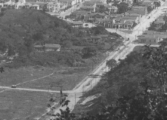 Vista da Rua Duvivier no início do século XX