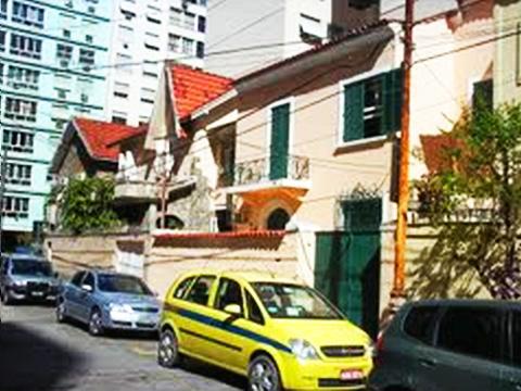 Rua Silva Castro em Copacabana
