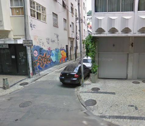 Travessa Jahú em Copacabana