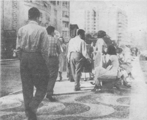 A zona sul do Rio de Janeiro nos anos 1950