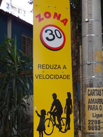 Zona 30 em Copacabana
