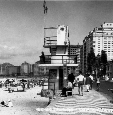 Posto 5 Copacabana anos 1960