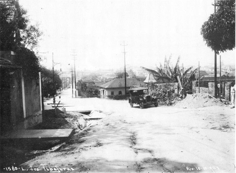 Alto da Ladeira dos Tabajaras em 1938