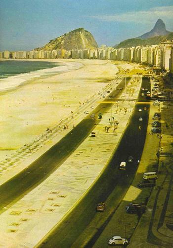 Avenida Atlântica anos 1970