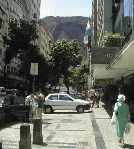 Rua Rodolfo Dantas em Copacabana