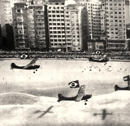 Salve Copacabana! Salve o Brasil! Avenida Atlântica 1957