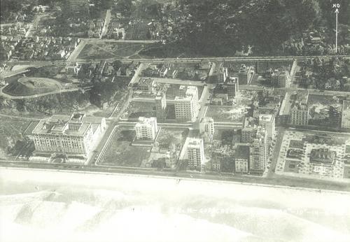 Região do Lido, Copacabana, em 1933