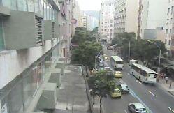 Avenida Copacabana com Siqueira Campos em Copacabana por volta das 11:15