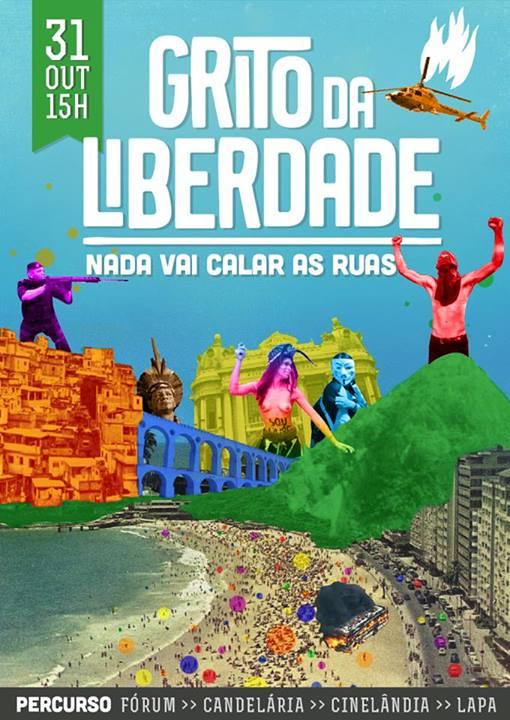 GRITO DA LIBERDADE Quinta Feira 31 de Outubro de 2013