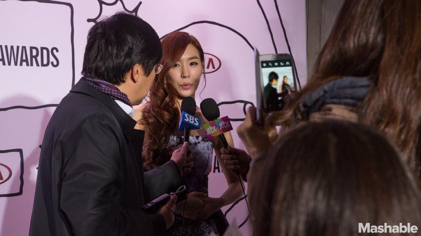 Tiffany, do grupo vencedor do Youtube Award Girl's Generation