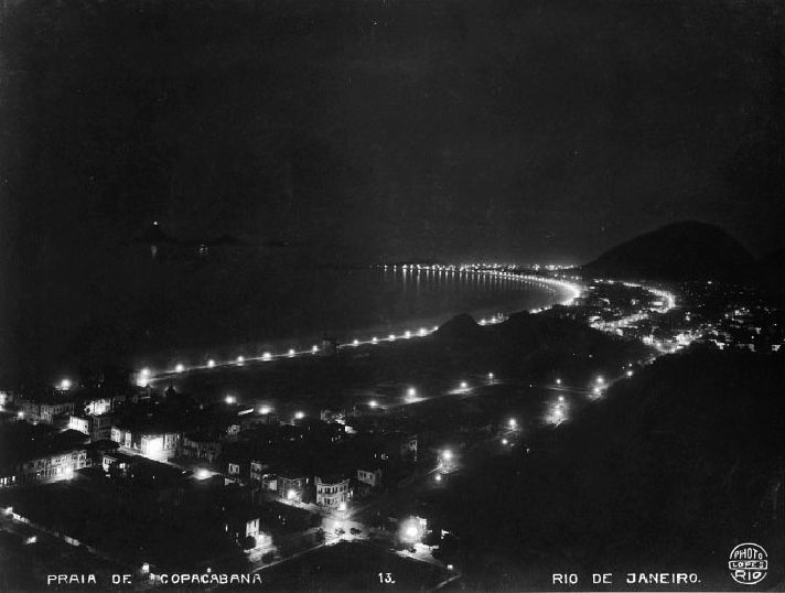 A noite em Copacabana, no início dos anos 1920
