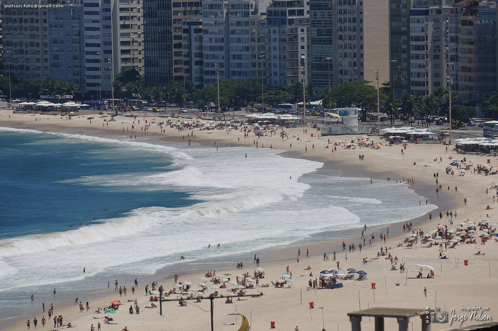 Foto de Copacabana em dia de sol