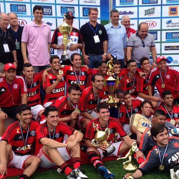 Flamengo campeão em #Copacabana