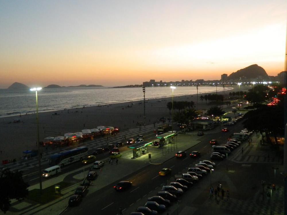 Horario de verão aqui em #Copacabana