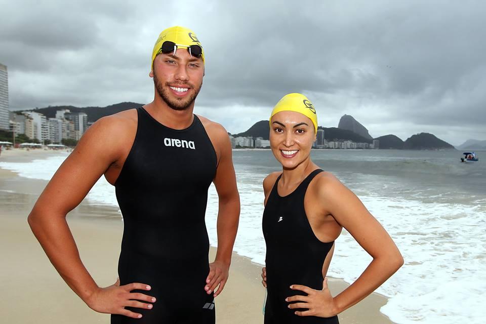 Poliana e Samuel de Bona levam título de 'Rei e Rainha do Mar' 2013 em #Copacabana - 15/12/2013