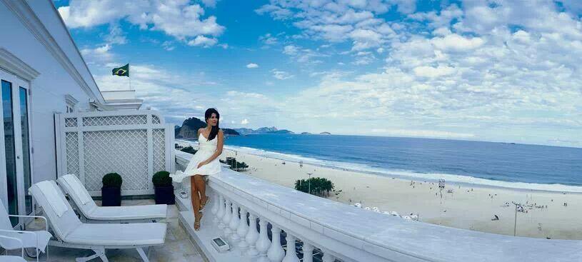 Sacada do Hotel Copacabana Palace