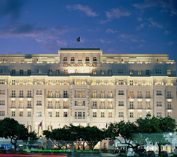 Hotel Copacabana Palace, a noite, 03/01/2014