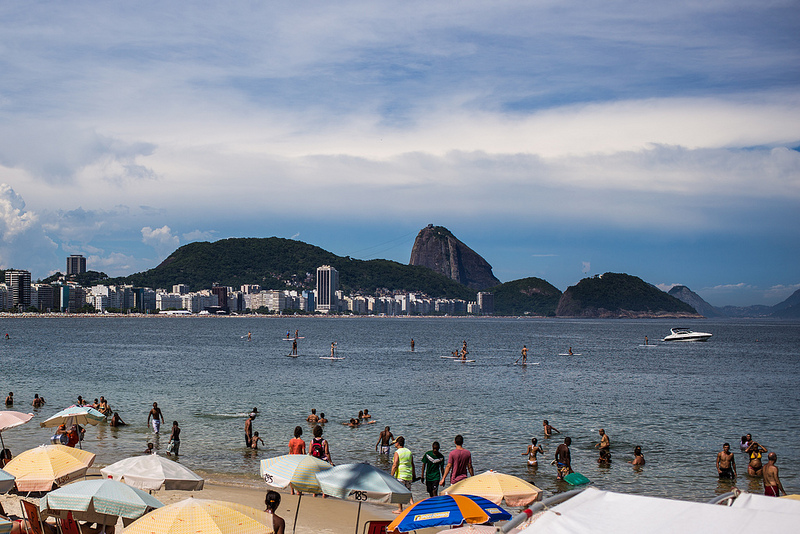 Praia de Copacabana 1º dia de 2014