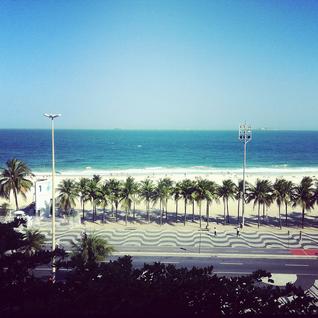 Posto 1 - Praia do Leme - Copacabana