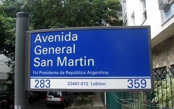Avenida General San Martin no Leblon, Rio de Janeiro