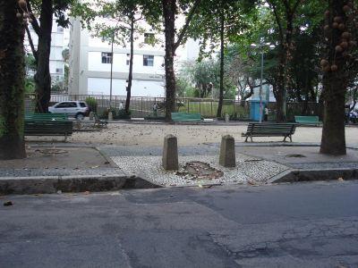 Praça Ministro Romeiro Neto, no Leblon
