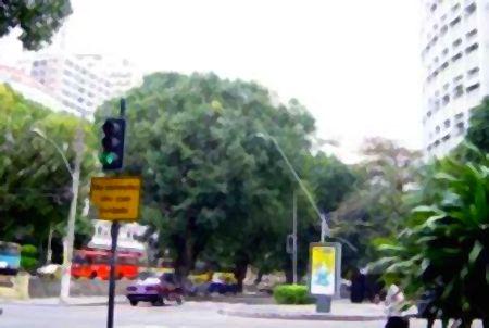 Praça Professor Azevedo Sodré, no Leblon