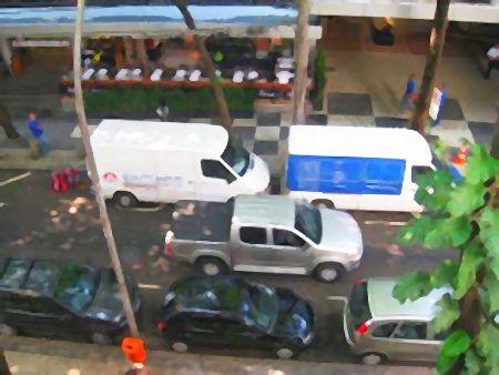 Rua Almirante Guilhem no Leblon, Rio de Janeiro