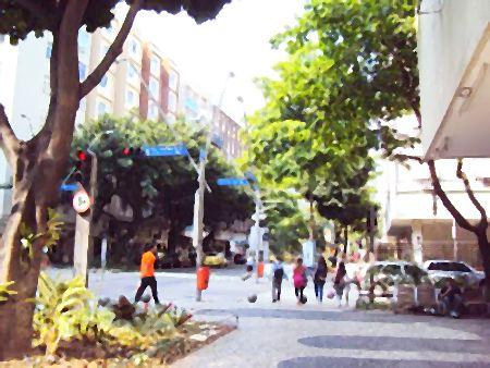 Rua General Venâncio Flores no Leblon