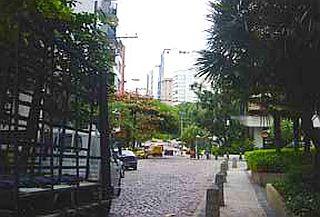 Rua Igarapava no Leblon